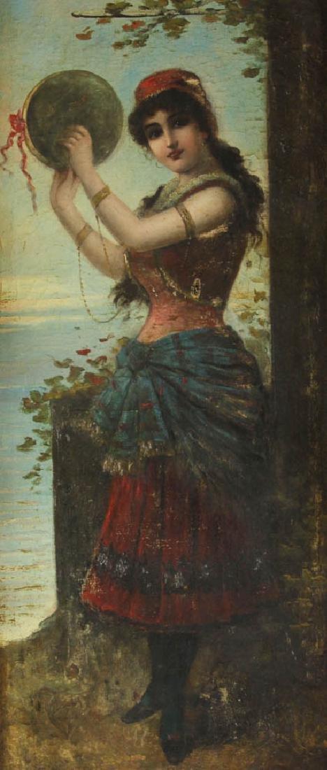 19th Century Italian School Oil on Canvas - 2