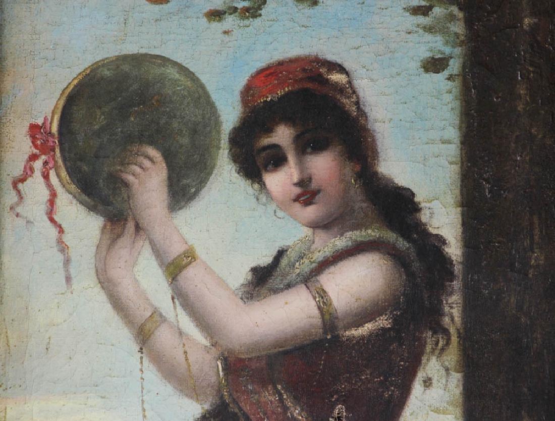 19th Century Italian School Oil on Canvas - 3