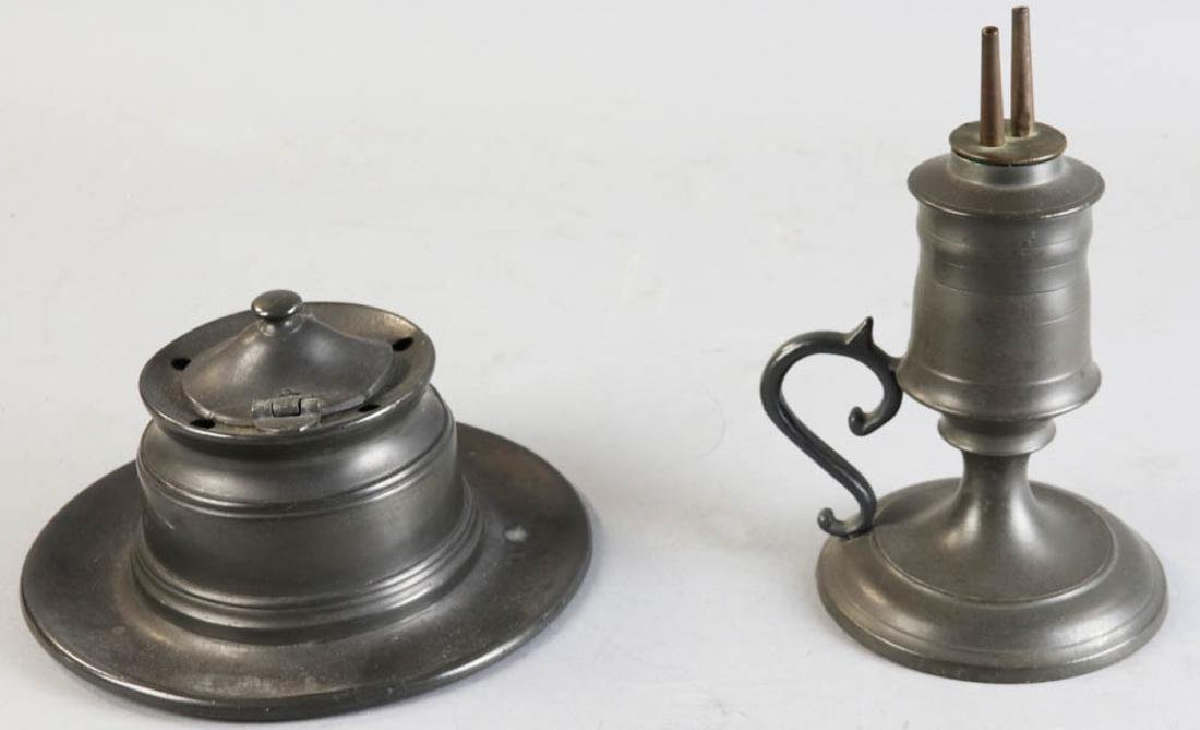 Group of Pewter Ware - 5