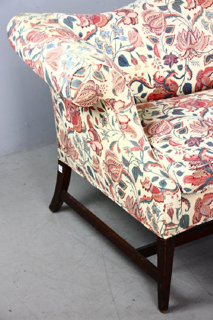 Chippendale Style Upholstered Sofa - 2
