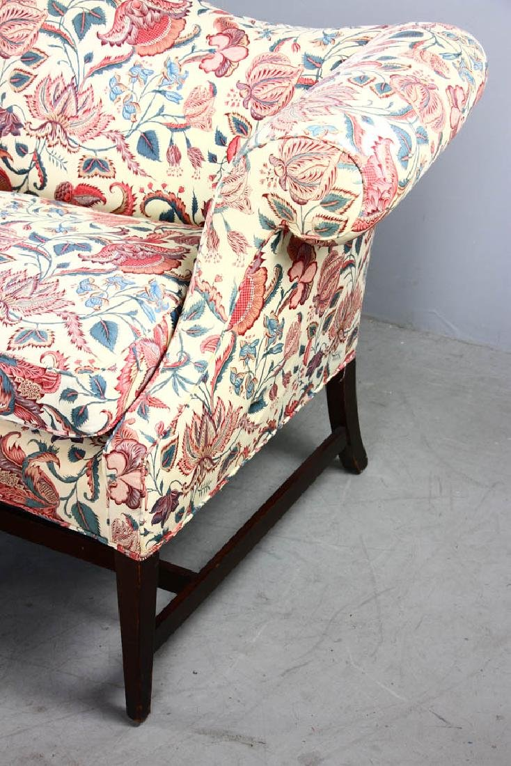 Chippendale Style Upholstered Sofa - 3