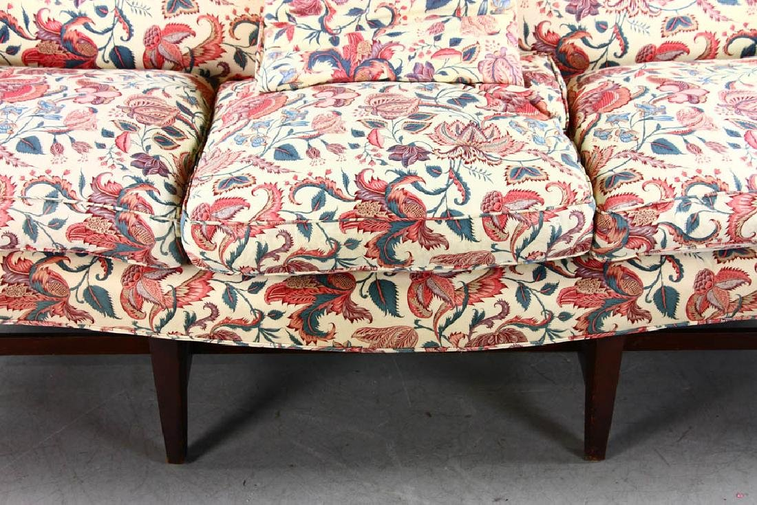 Chippendale Style Upholstered Sofa - 4