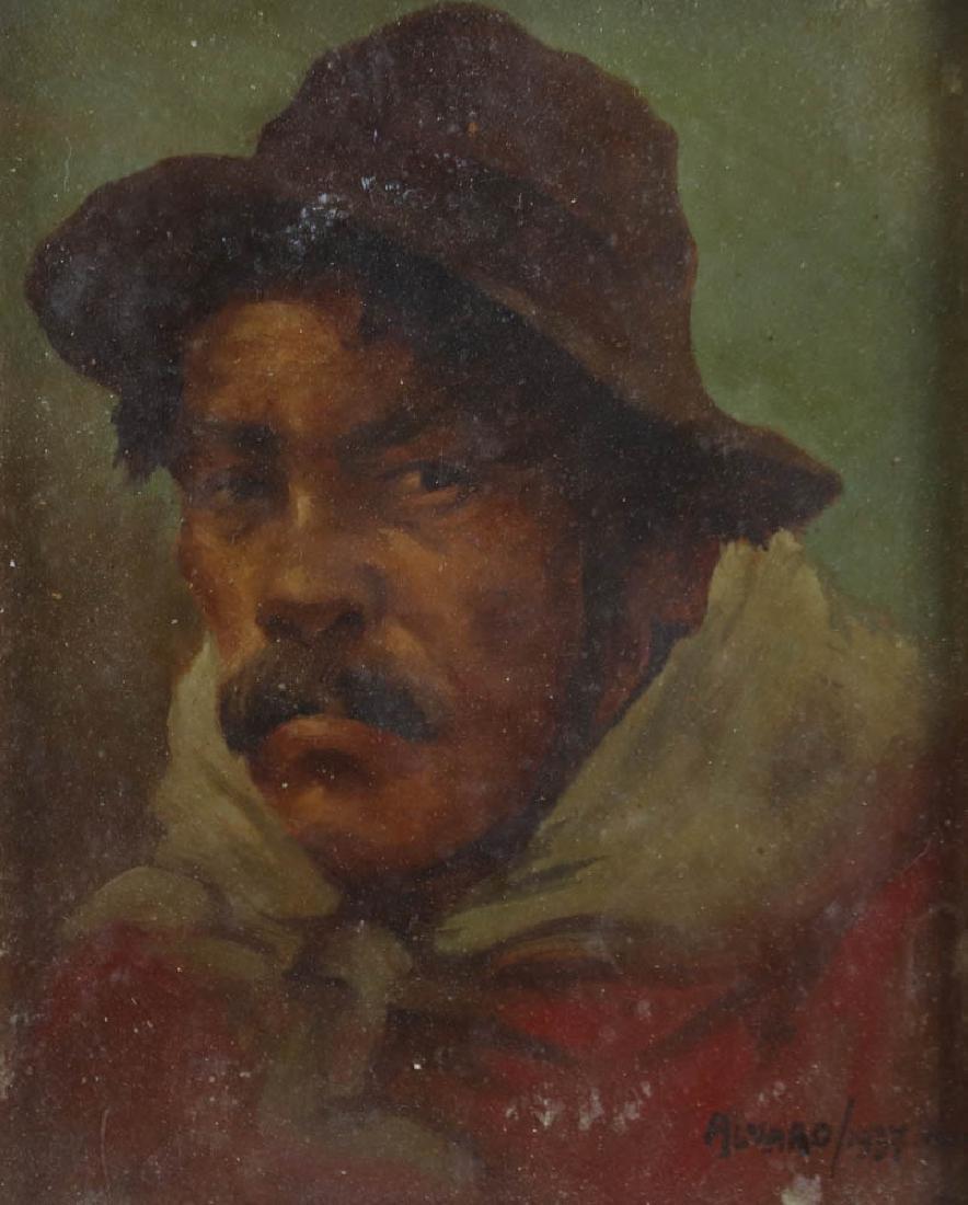 Alvaro, Porhut, Oil on Board - 2