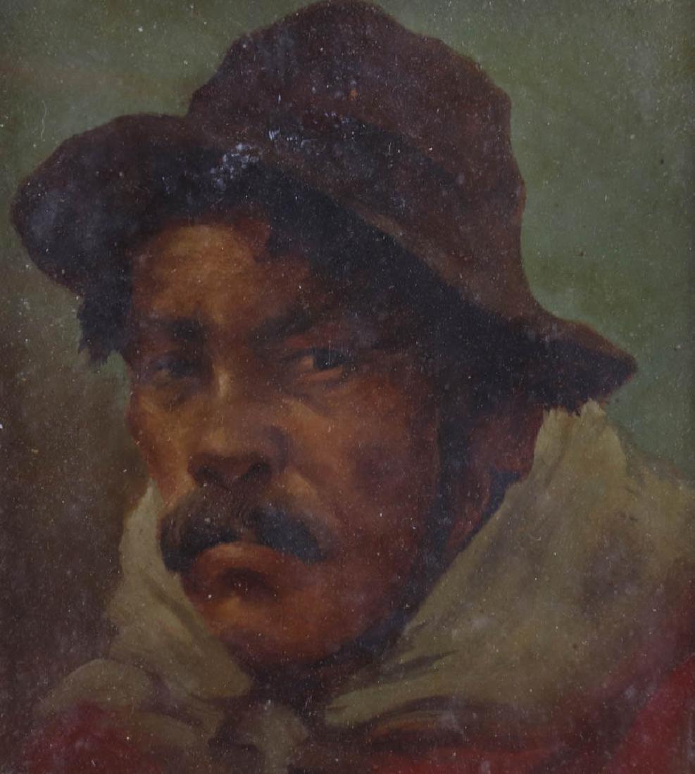 Alvaro, Porhut, Oil on Board - 3