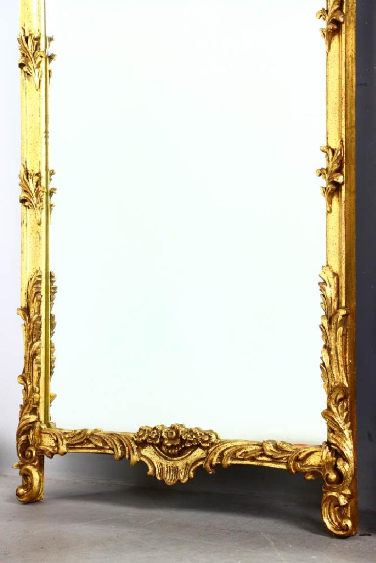 Pair of Decorative Gilt Framed Mirrors - 3