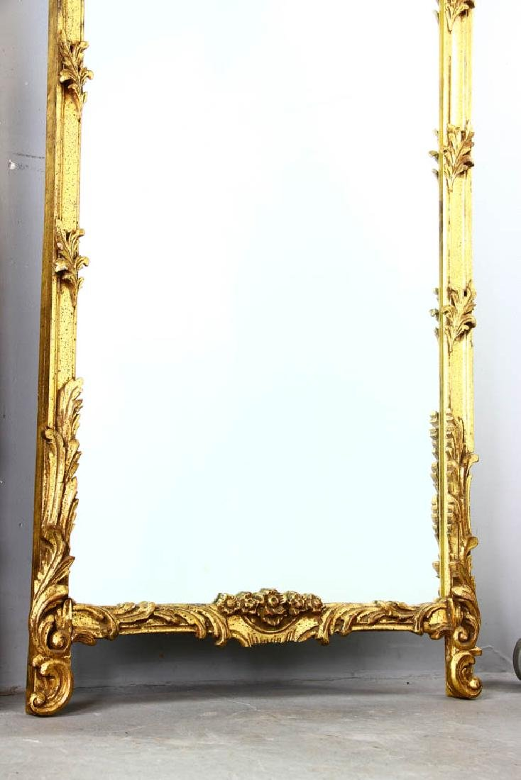 Pair of Decorative Gilt Framed Mirrors - 5