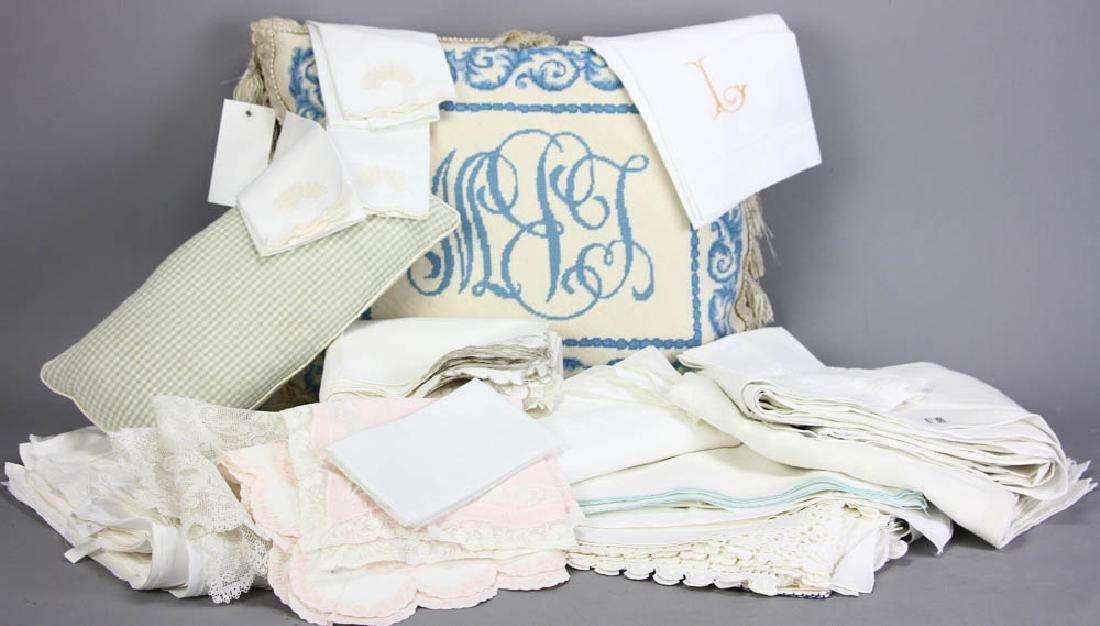 Old Linens and Pillows