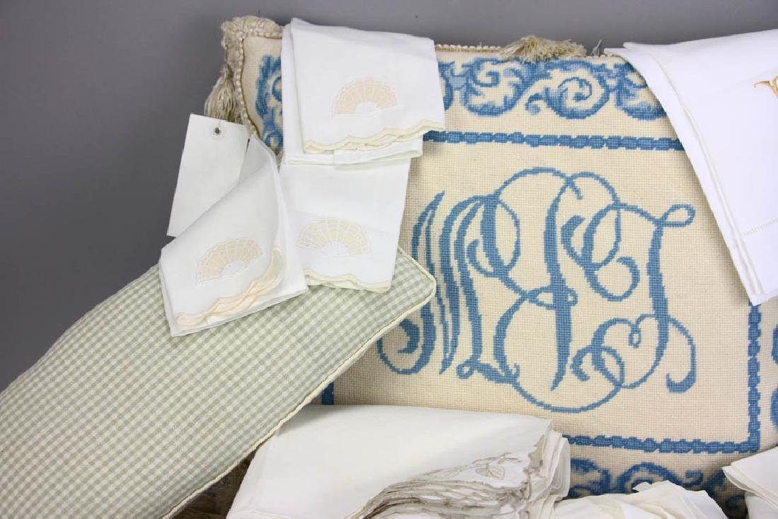 Old Linens and Pillows - 2