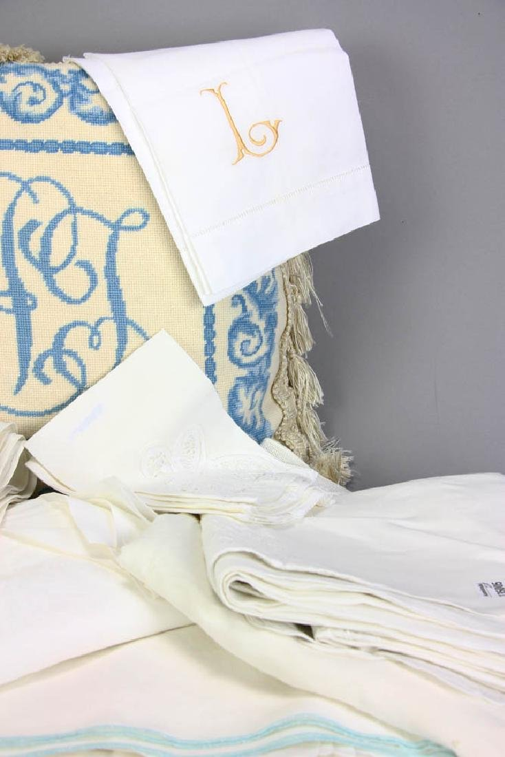 Old Linens and Pillows - 3