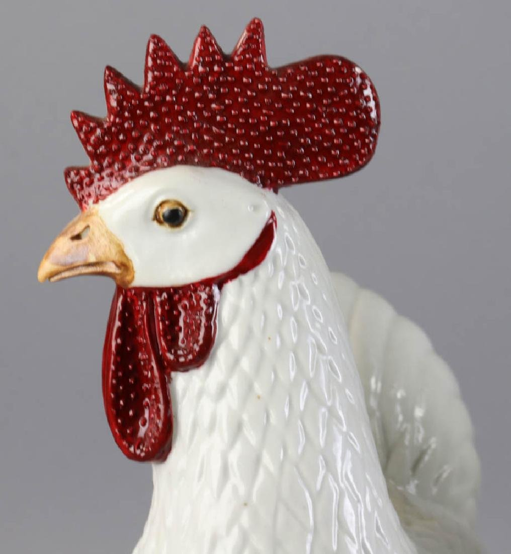 Chinese Porcelain Roosters - 5