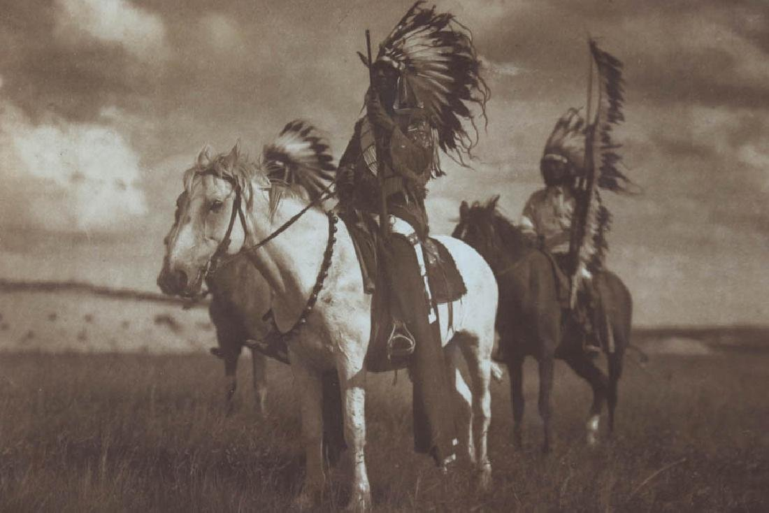 Sioux Chiefs Photogravure by Curtis - 3