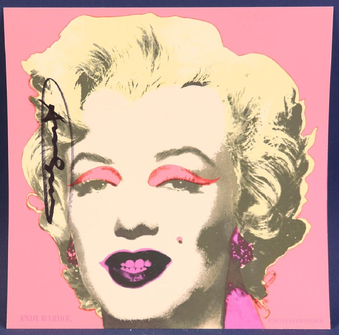 Andy Warhol Marilyn Offset Lithograph