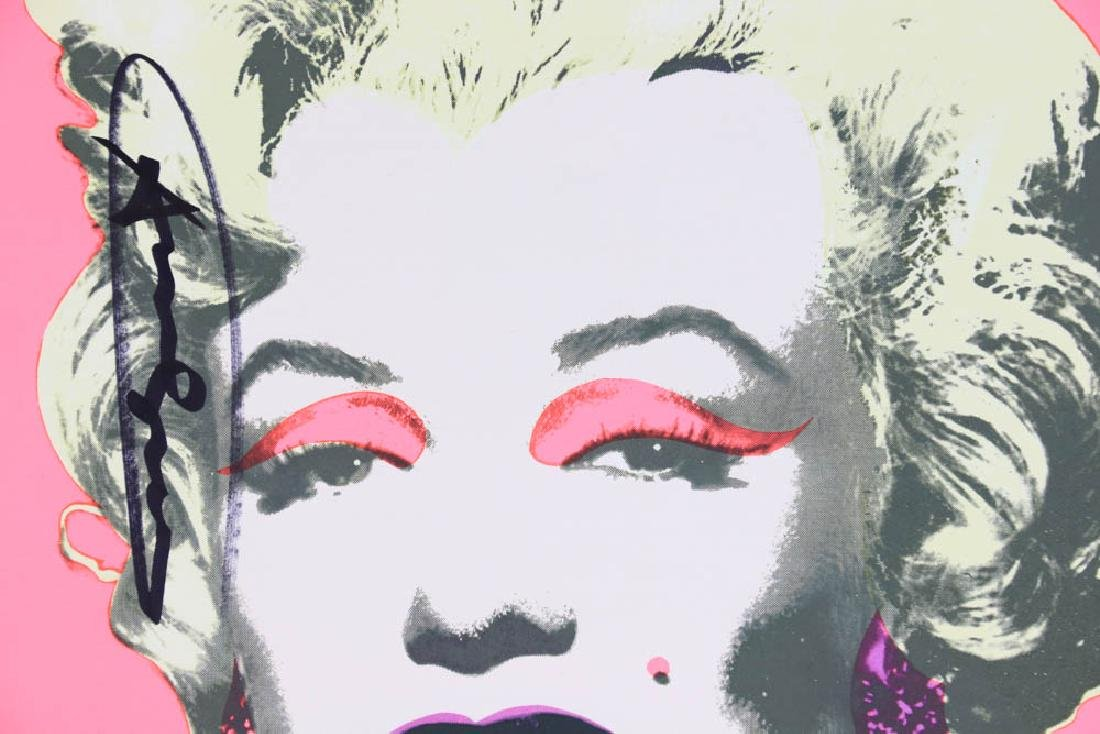 Andy Warhol Marilyn Offset Lithograph - 2