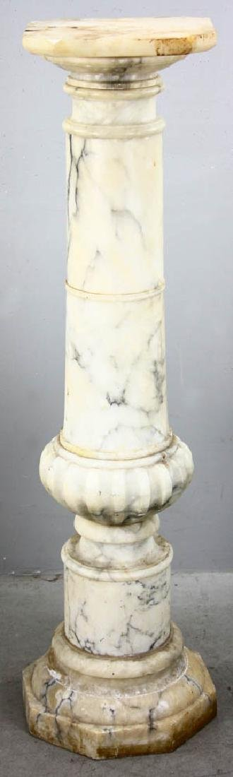 19th Century Classical Marble Pedestal