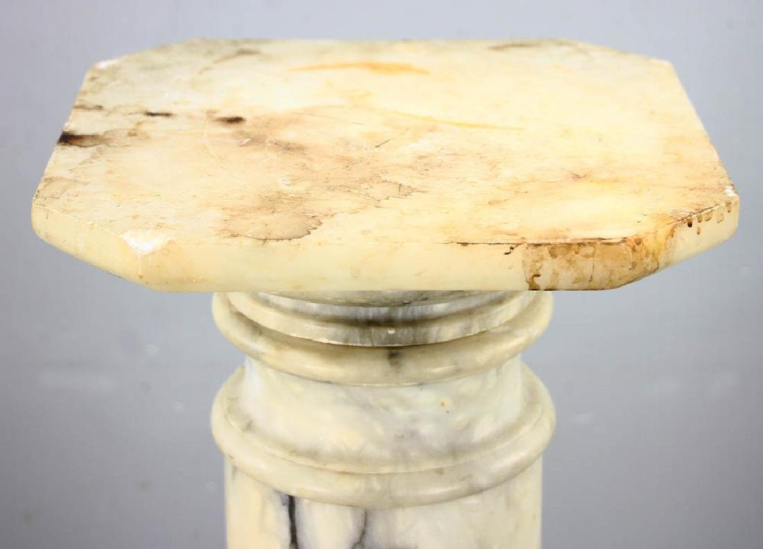 19th Century Classical Marble Pedestal - 4