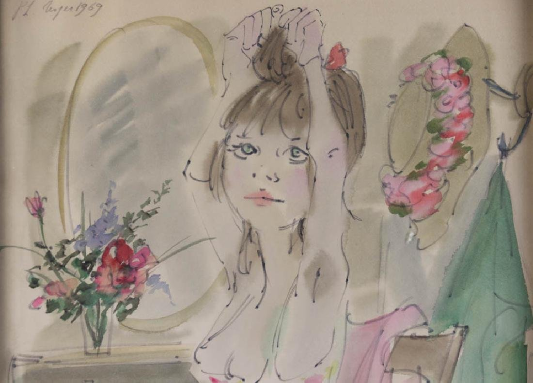 Philippe Noyer Watercolor on Paper - 2