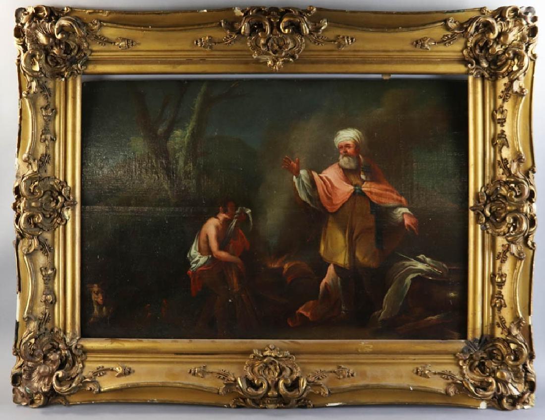 17th/18th Century Dutch Oil on Canvas