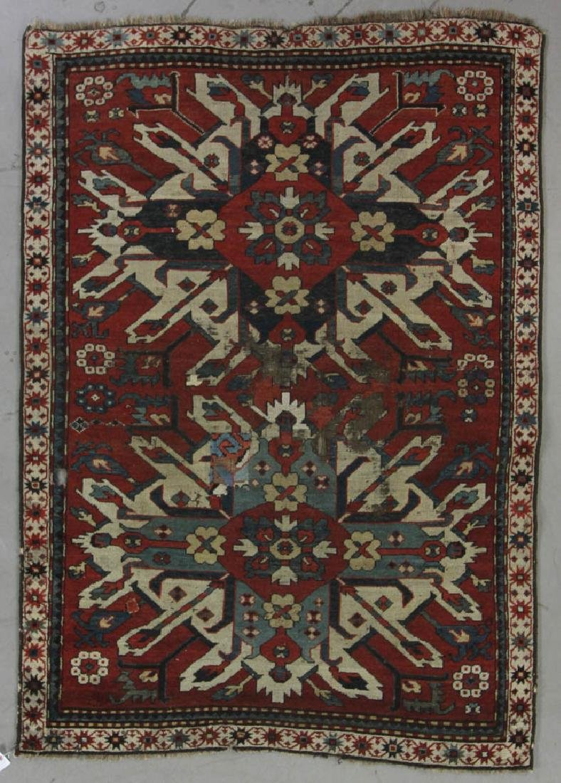 Antique Kazak Rug