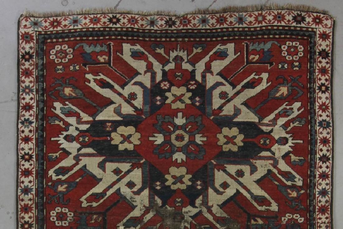 Antique Kazak Rug - 4