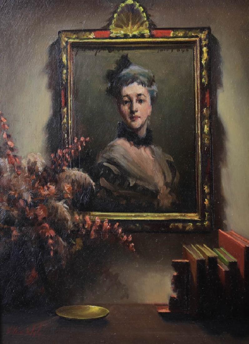Helen Van Wyk, Two Paintings, Oil on Board - 2