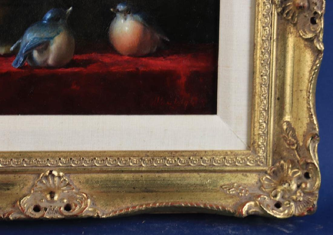 Helen Van Wyk, Two Paintings, Oil on Board - 5