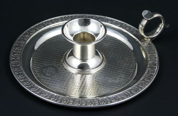 2007: S. Kirk & Son Silver Candlestick Tray