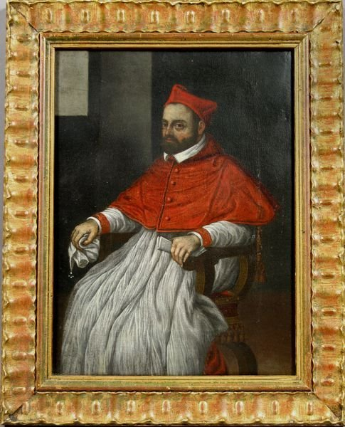 2012: 19th Century Italian, Portrait of Cardinal, o/c