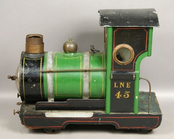 2015A: 19th Century English Miniature Garden Train