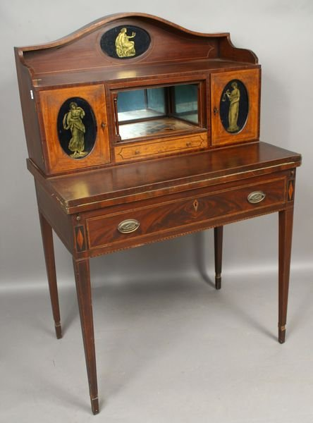 2017: Early 20thC Adams-style Mahogany Lady's Desk