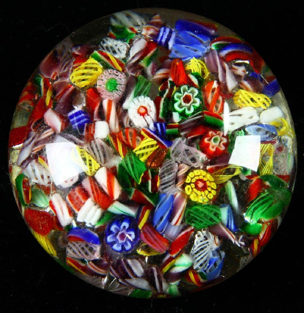 Group of Seven Assorted Paperweights - 4
