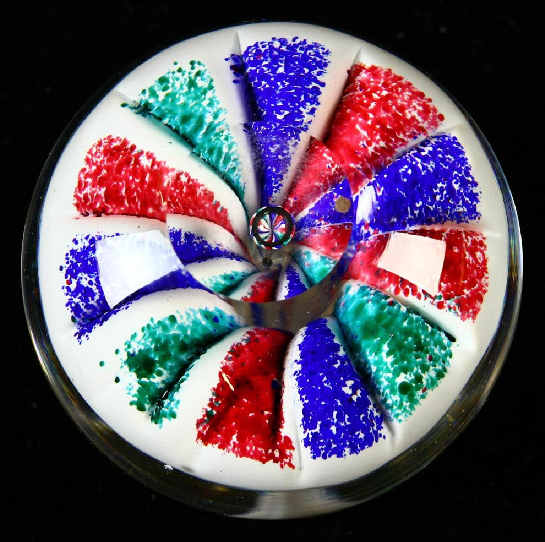 Group of Seven Assorted Paperweights - 8