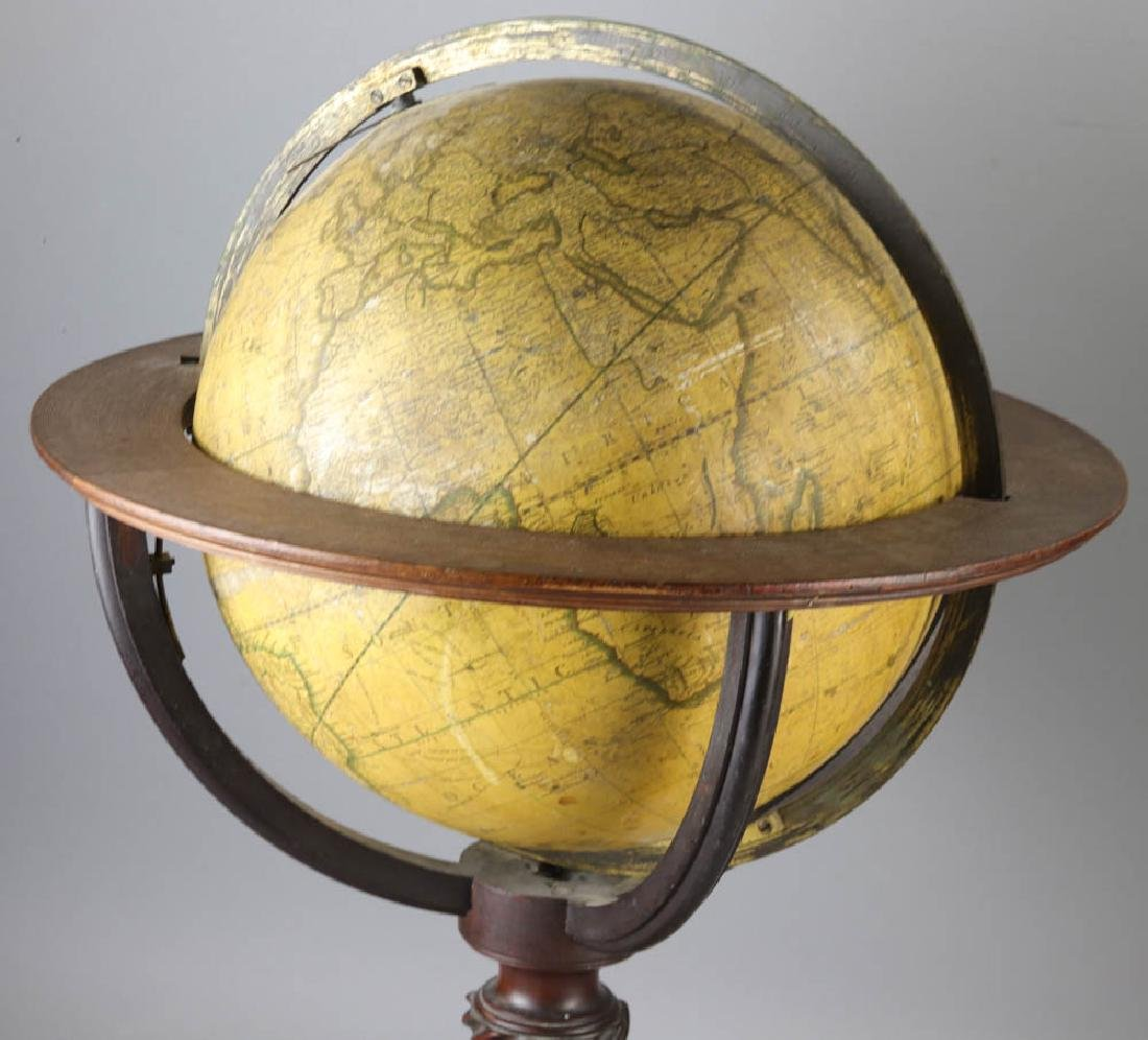 Carys New Terrestrial Globe from 1800 with Compass - 3
