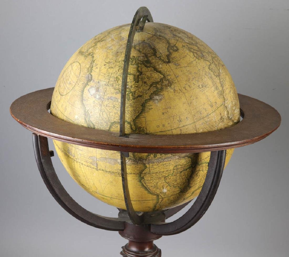 Carys New Terrestrial Globe from 1800 with Compass - 4