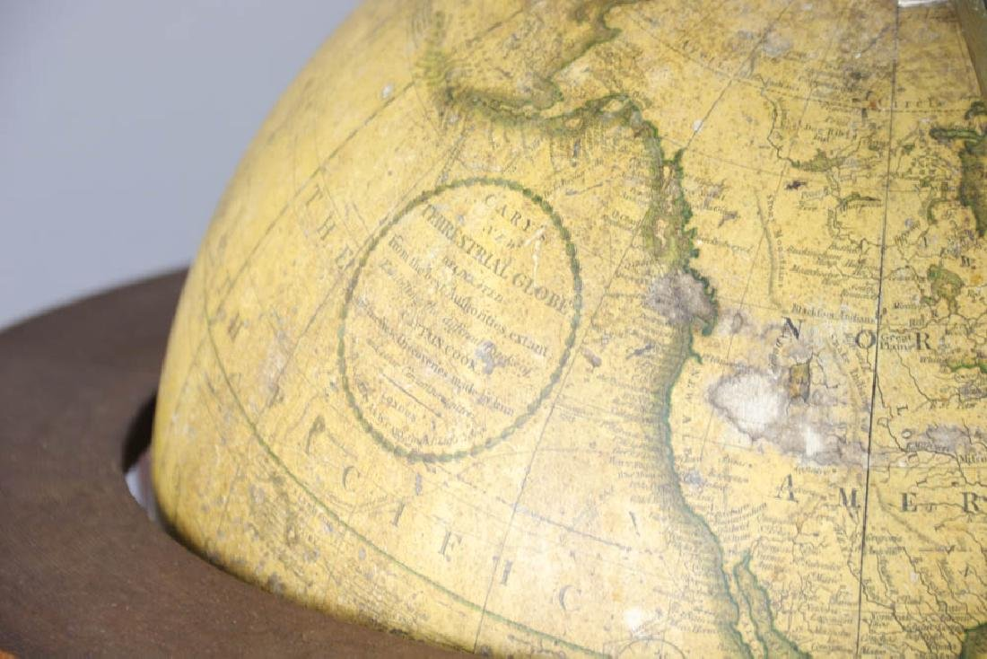 Carys New Terrestrial Globe from 1800 with Compass - 5