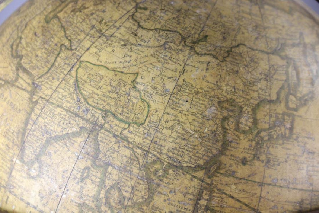 Carys New Terrestrial Globe from 1800 with Compass - 8