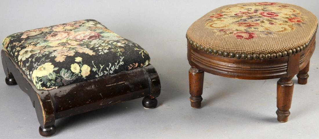 Group of Six Old Stools - 8