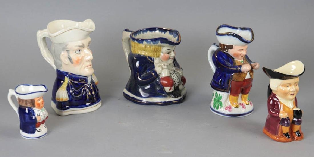 Group of Five Toby Jugs - 4