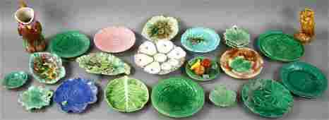 Old Majolica China Collection