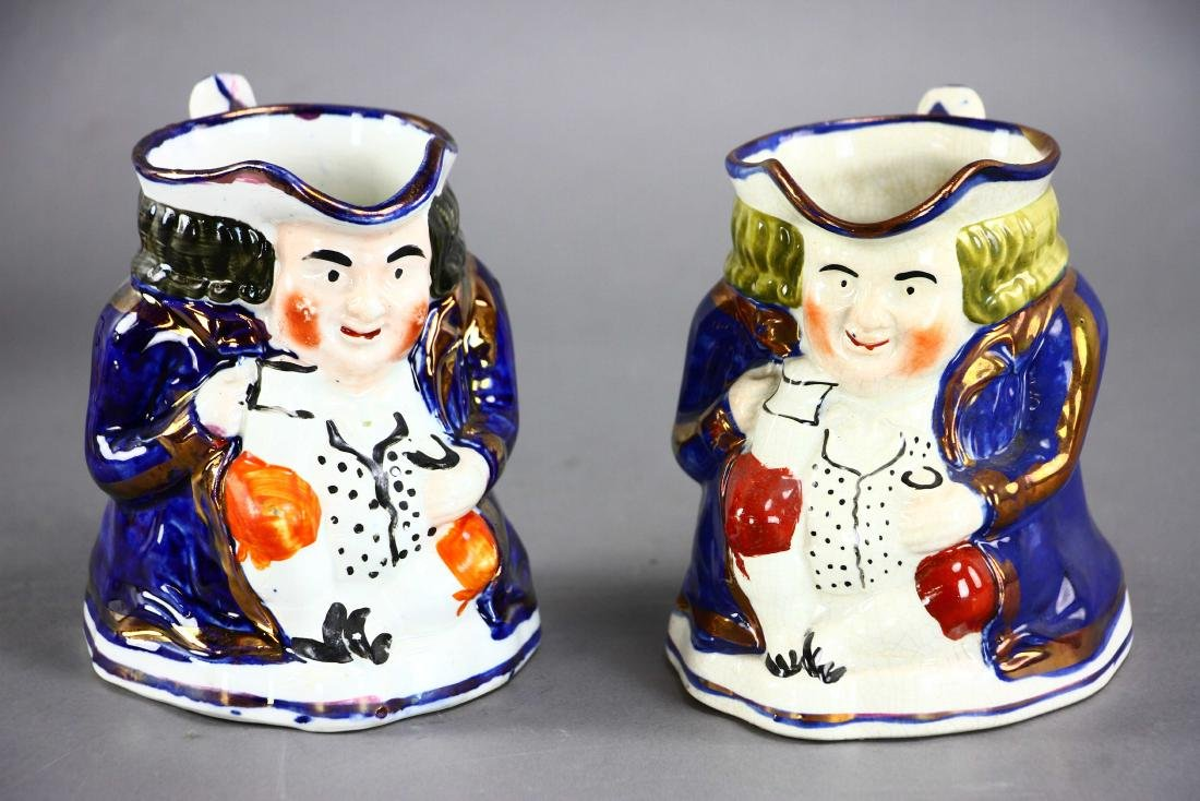 Group of Five Toby Jugs - 2