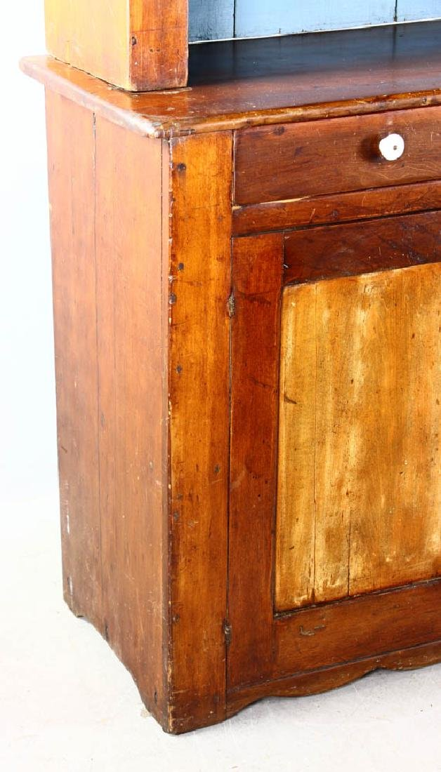 Early American Pine Two-Door Cupboard - 5