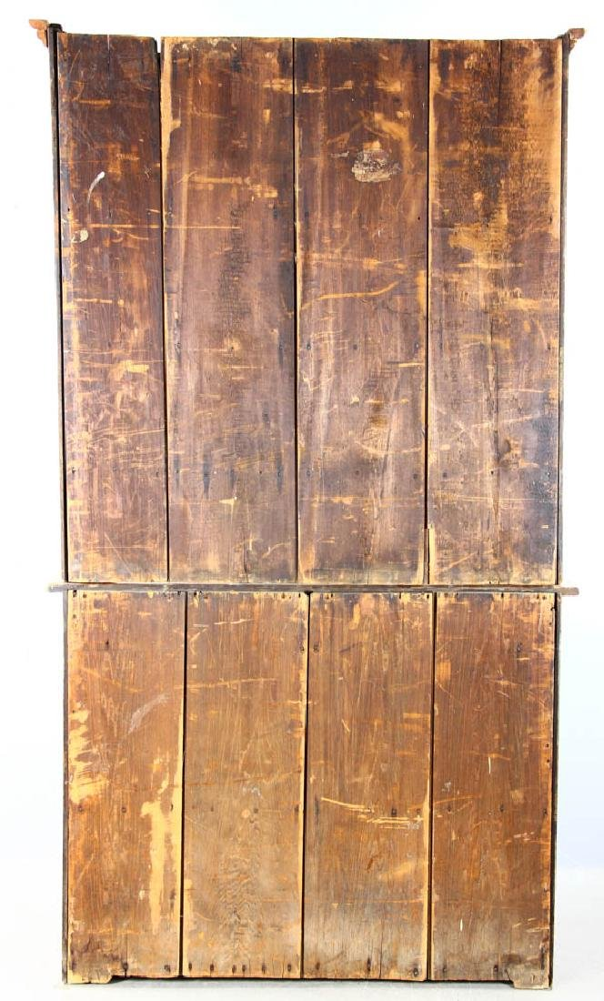 Early American Pine Two-Door Cupboard - 6