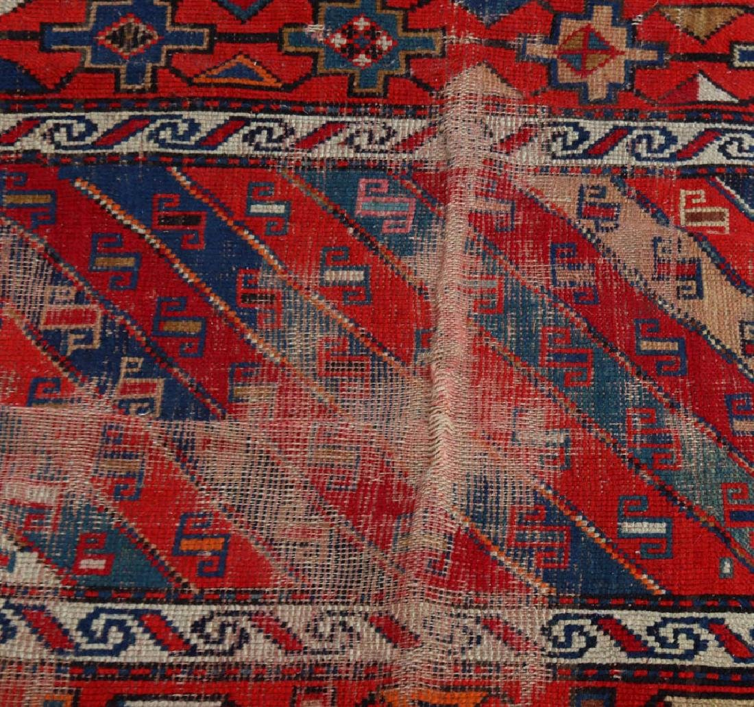 (4) Antique Caucasian and Anatolian Rugs - 10