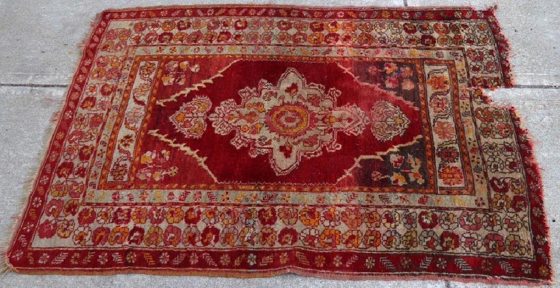 (4) Antique Caucasian and Anatolian Rugs - 2