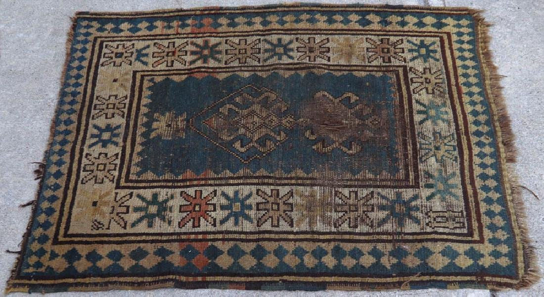 (4) Antique Caucasian and Anatolian Rugs - 6