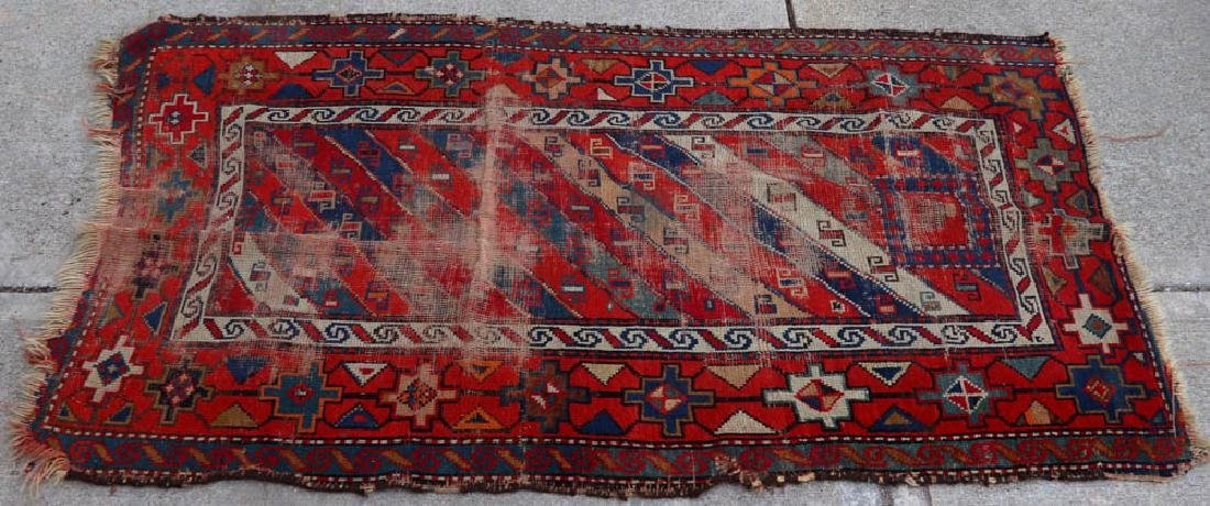 (4) Antique Caucasian and Anatolian Rugs - 9