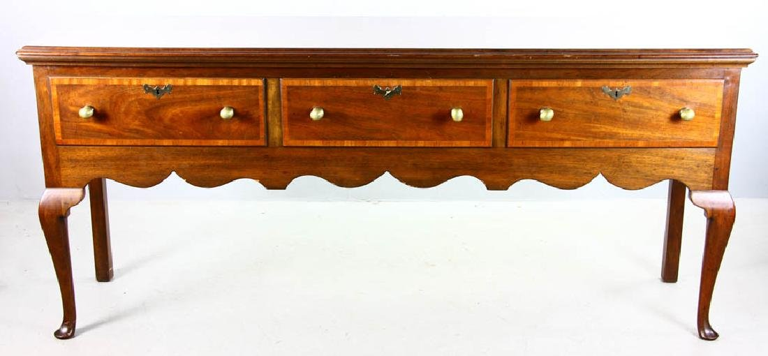Kittinger Queen Anne Style Huntboard