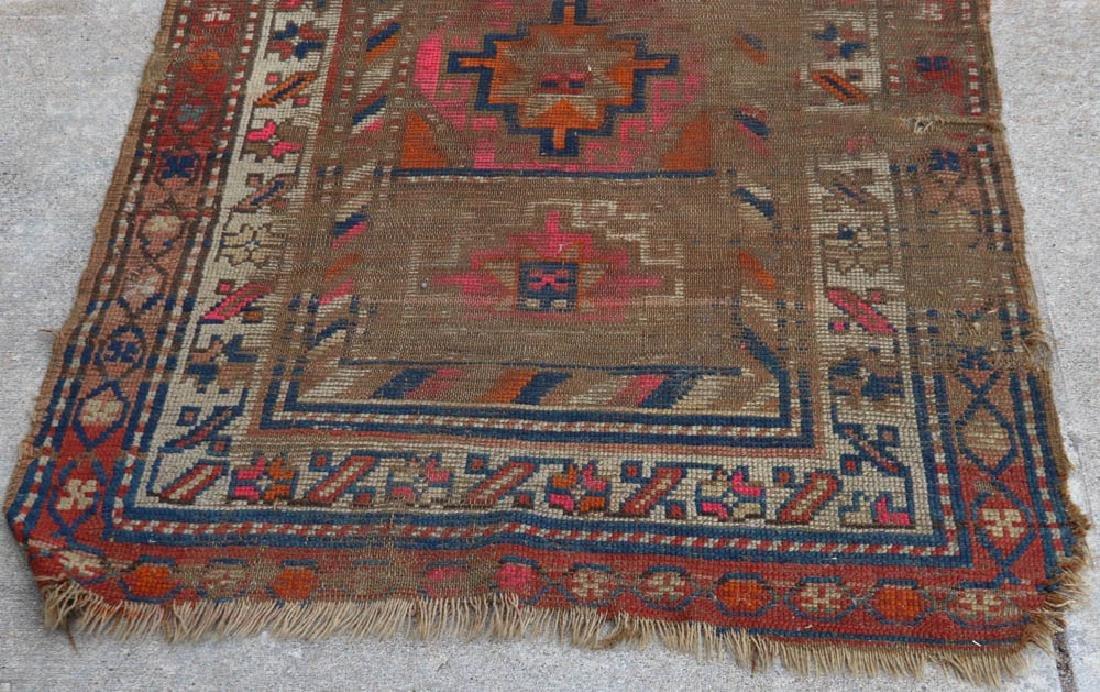 Antique Caucasian Kazak Rug - 3