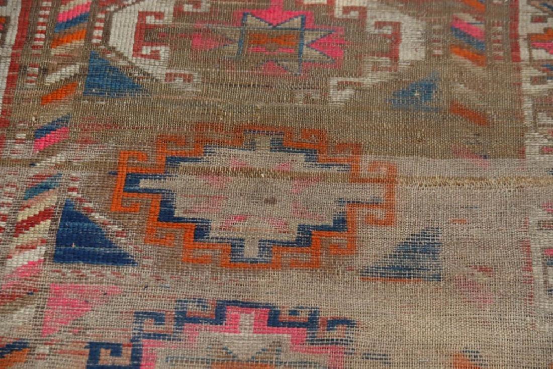 Antique Caucasian Kazak Rug - 6