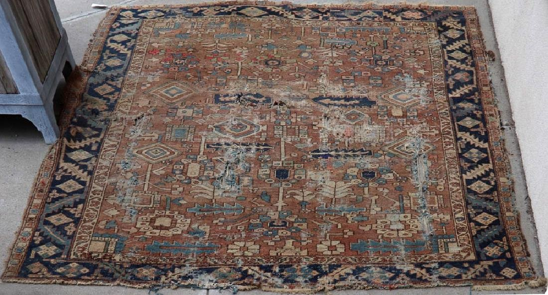 Antique Persian Heriz Rug - 2