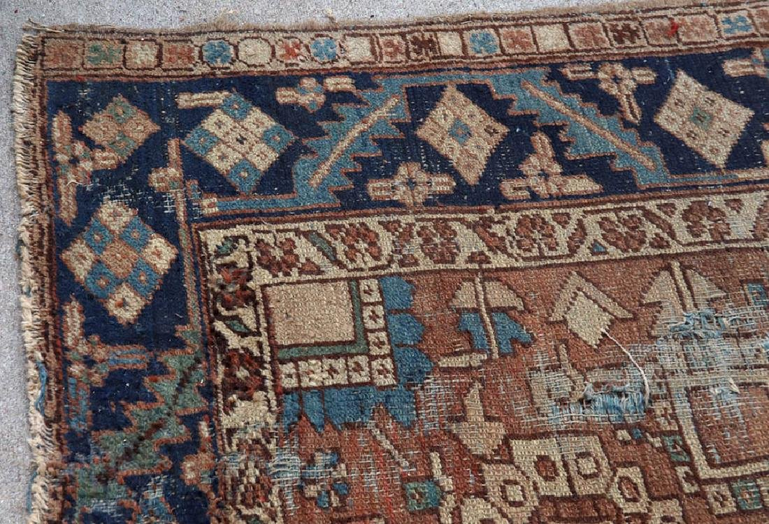 Antique Persian Heriz Rug - 8
